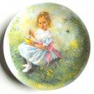 John Mc Clelland Mother Goose Little Miss Muffet Reco Plate 1981