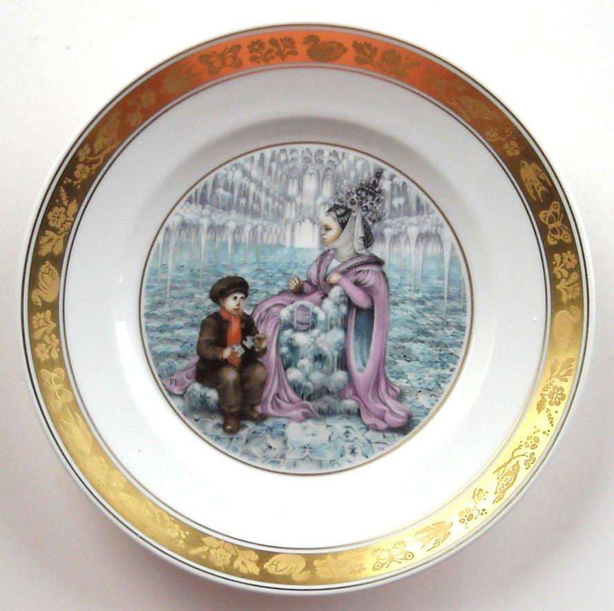 H C Andersen Snow Queen Royal Copenhagen Plate