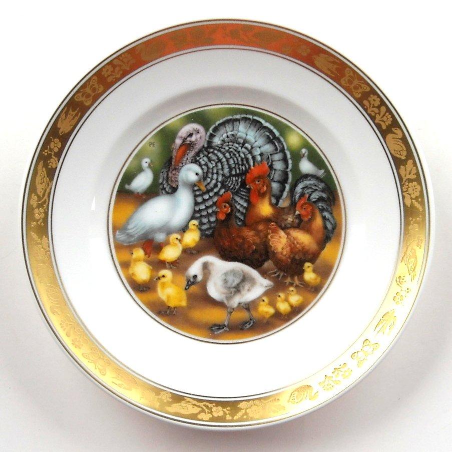 H C Andersen Ugly Duckling Royal Copenhagen Plate