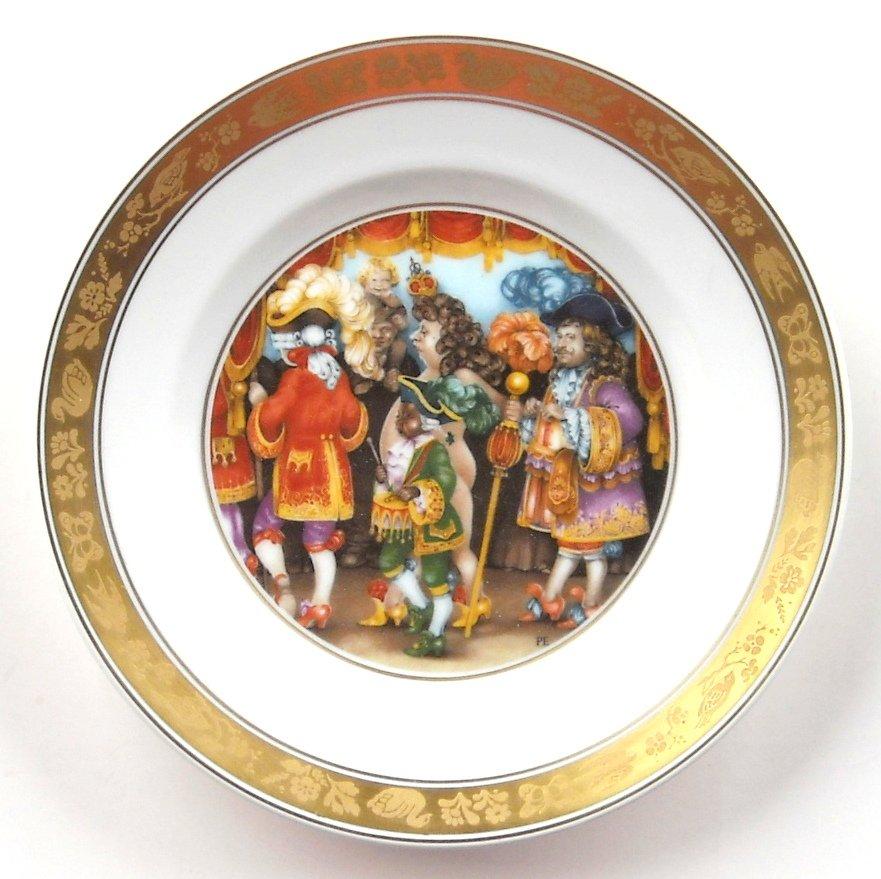 Emperors New Clothes H C Andersen Royal Copenhagen Plate