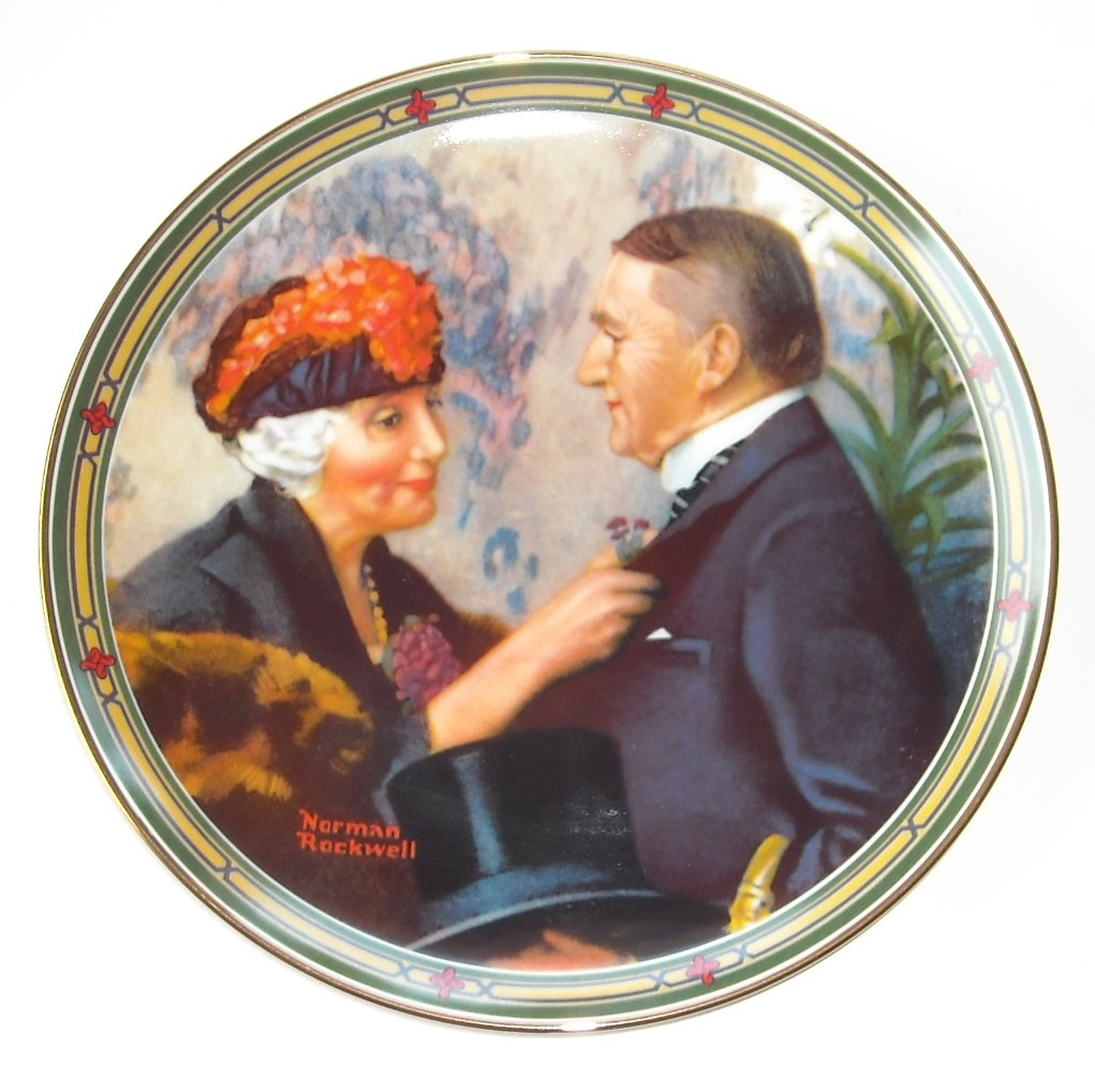 Norman Rockwell American Dream Collection No 8 Knowles Wall Plate