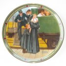 Norman Rockwell American Dream Collection No 7 Knowles Wall Plate