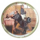 Norman Rockwell American Dream Collection No 6 Knowles Wall Plate