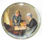Norman Rockwell American Dream Collection No 3 Knowles Wall Plate