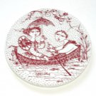 July Nocturne Red Bjorn Wiinblad Denmark Plate