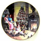 Family Traditions Scenes Of Christmas Past WS George Porcelain Plate 1992