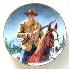 John Wayne High Country Robert Tanenbaum Franklin Mint fine porcelain plate