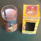 Pocahontas Powhatan and Kocoum Disney Classic Burger King Plastic Tumbler 1994