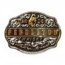 Montana Silversmiths Pendleton Rodeo Cowboy 2014 Black Belt Buckle