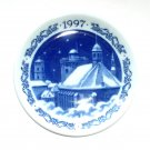 Royal Copenhagen 1997 Round Tower Annual Christmas Small Plate