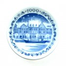 Royal Copenhagen 1999 Nyhavn Annual Christmas Plaquette Small Plate