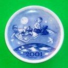 Royal Copenhagen Millennium 2001 Small Plate Plaquette