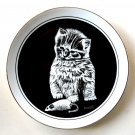 My Favorite Toy Droguett Kittens World Royal Cornwall 1979 Porcelain Plate
