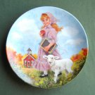 John Mc Clelland Mother Goose Mary Had A Little Lamb Reco Plate 1985