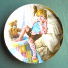 John Mc Clelland Mother Goose Diddle Diddle Dumpling Reco Plate 1984