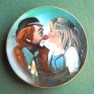 Chuck Oberstein Kiss Clown Hackett Fairmont Plate 1981
