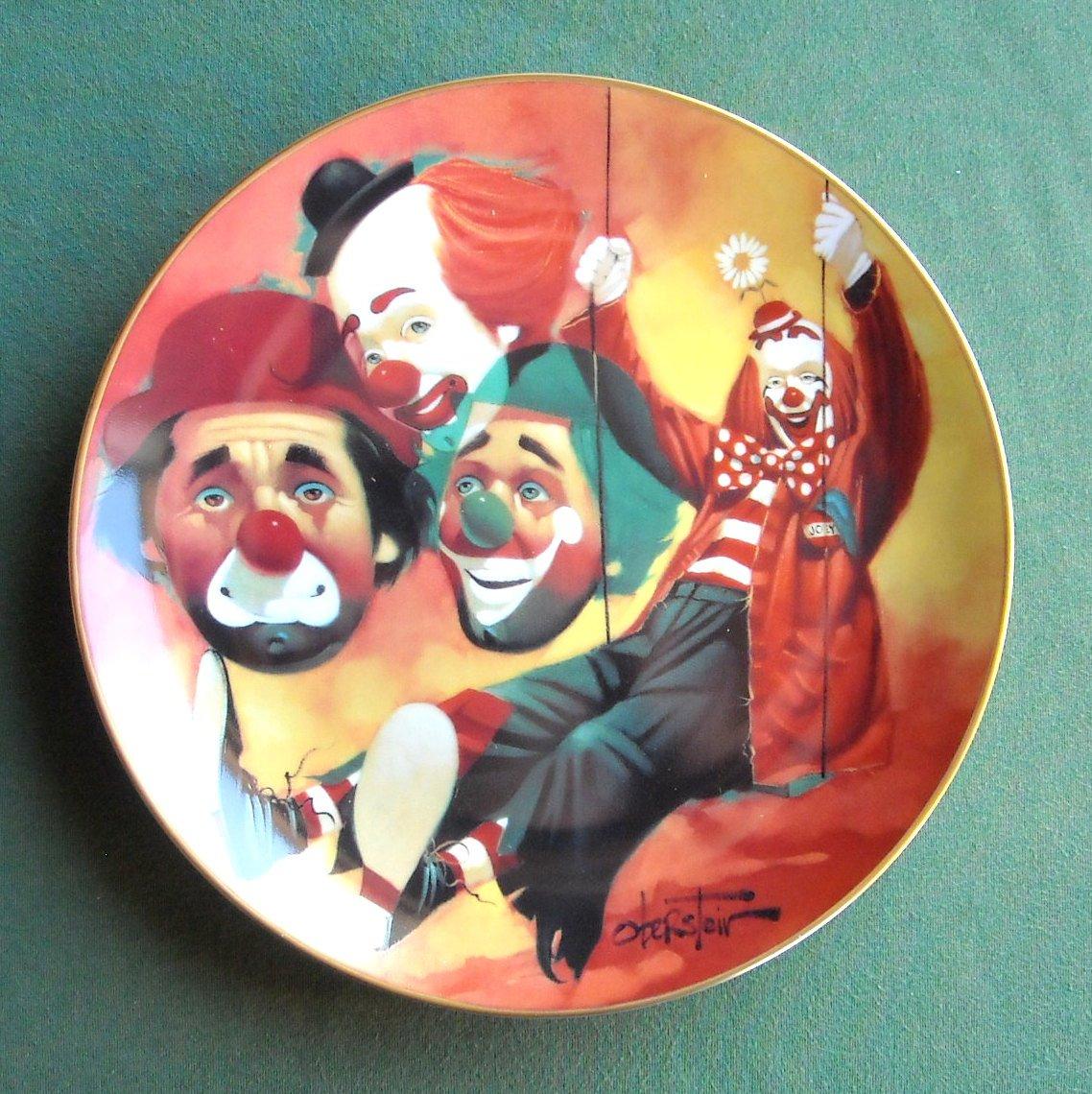 Chuck Oberstein Happy Days Hackett Fairmont Plate 1982