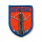 Vintage New York Embroidered Souvenir Emblem Patch