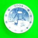 Royal Copenhagen 2004 Old Mill Annual Christmas Small Plate Plaquette