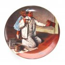 The Painter Norman Rockwell 1983 Heritage Collection Knowles Wall Plate Boxed