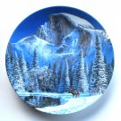 Blue Snow at Half Dome Nature's Legacy W. S George Wall Plate Boxed