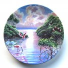 Radiant Sunset Everglades Nature's Legacy W. S George Wall Plate Boxed