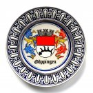 Goppingen Coat of Arms Original Gerzit W Germany Plate