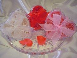 Pink Rose Soap Petals