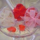 White Rose Soap Petals