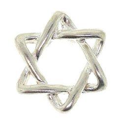 Sterling Silver Jewish Star of David Pendant