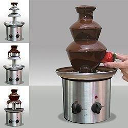 Chocolate Fondue Set - Steel