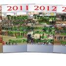 SET 6 DVDs 2009 2010 2011 2012 2013 2014 Keystone Nationals Tractors DVD