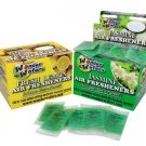 Wonder Wafers 144 Count NEW LEATHER  Individually Wrapped Air Fresheners
