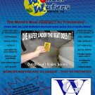 Wonder Wafers 25 Count CLEAN CAR Air Fresheners Wrapped