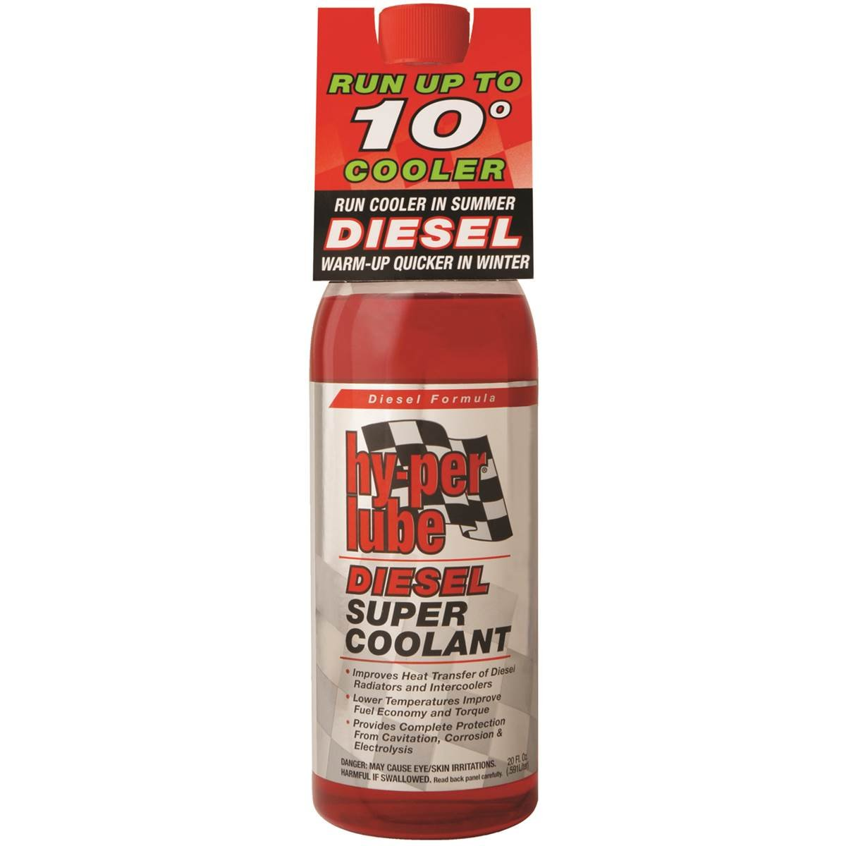 Bars Products HPD200 Super Coolant for Diesel Engines 18 oz
