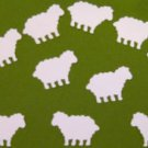 White Counting Sheep Animal Punchies Paper Punch Cut Outs Embellishments Qty 50