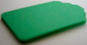 Die Cut Gift Journalling Hang Tags Paper Embellishment Green