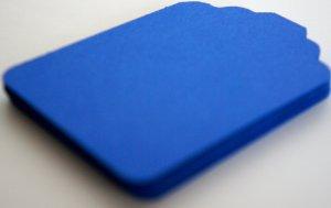 Die Cut Gift Journalling Hang Tags Paper Embellishment Blue