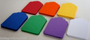 Gift or Tag Punches for Scrapbooking & Card Making Birthday Valentine Party