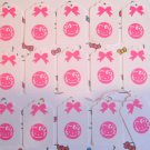 Journal Gift Tags Kitty Scrapbook Embellishment