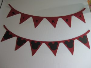 Banner Flag Punch Paper Punchies Confetti Die Cut Outs Scrapbooking Card Making