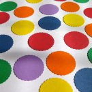 "Circles Round 1"" Die Cut Punch Punchies Set of 50 Bottle Cap Art Confetti & More"