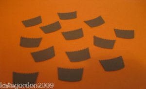 Reese's Peanut Butter Cups Die Cut Paper Punches Embellishments Confetti