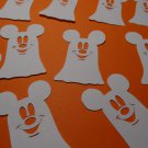 Ghost with EARS Not So Scary Halloween Paper Punchies Die Cuts