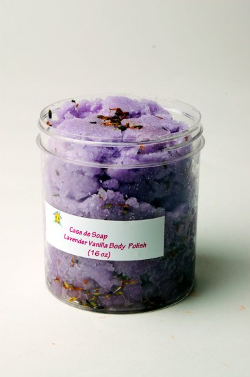 Lavender Vanilla Body Polish 16 oz.