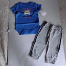 Carter's Baby Boy Bulldogs All Star Bodysuit Pants Set NWT 9 & 24 Months