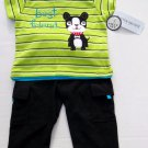 Buster Brown Best Friend Dog 2 Piece Baby Boy Outfit Shirt Pants 12 18 Months