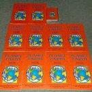 Set of 10 Planet Earth Prime Time Library Books w/Audio Cassette Sealed Teacher