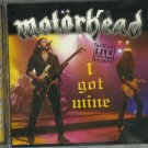 Motorhead - I Got Mine (LIVE] CD 2001 DISKY / 24HR POST