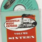 Various - Nashville Music Express 16 -PROMO CD-Xmas-Country USA  24HR POST